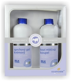 Dárková kazeta - koupelová s proteiny z kozího mléka