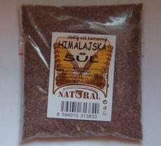 Jídelní sůl černá lávová 250 g