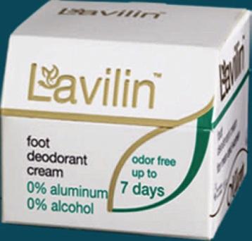 LAVILIN Deodorant–krém na chodidla 10ml