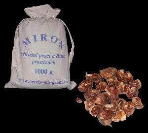 Mýdlové ořechy na praní MIRON 1000g